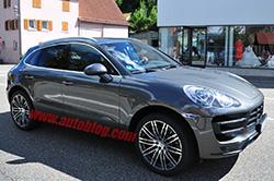 Porsche Macan spy shot