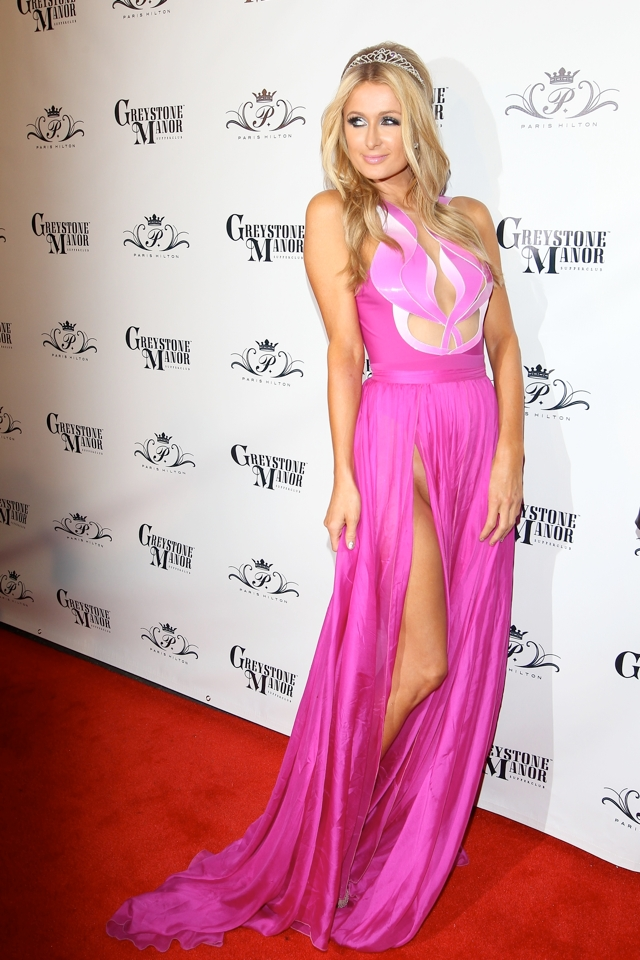 paris-hilton-pink-dress-33rd-birthday-party-photos