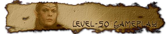 Level-50 gameplay