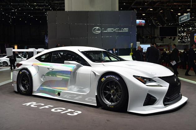 【ジュネーブ2014】レクサス「RC F GT3 concept」がワールドプレミア!!