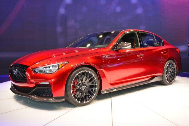 【北米国際自動車ショー2014】インフィニティ、「Q50 オールージュコンセプト」を世界初公開!