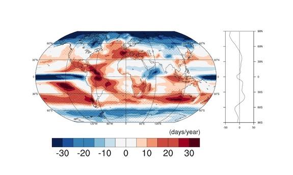 Global Precipitation Map