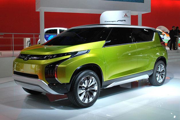 Mitsubishi Concept AR debut at 2013 Tokyo Motor Show
