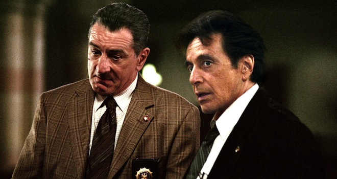 RIGHTEOUS KILL, from left: Robert DeNiro, Al Pacino, 2008. ©Overture Films/courtesy Everett Collection