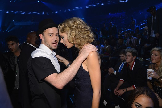 Justin Timberlake and Taylor Swift