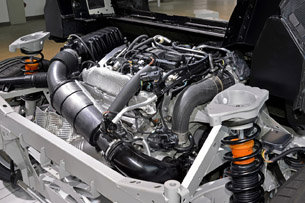 2014 BMW i8 Prototype engine