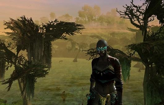 Norn Elementalist in the swamp