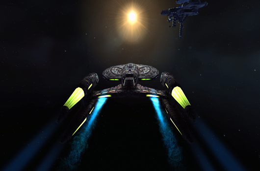 STO Fleet Starbase area