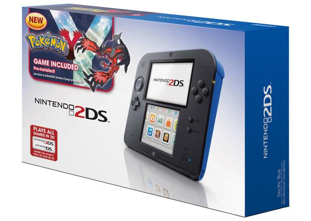 Nintendo 2DS with Pokemon Y