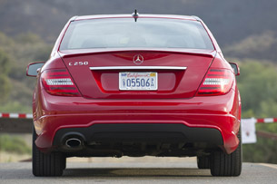 2013 Mercedes-Benz C250 Sport rear view