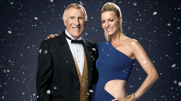 Bruce Forsyth and Tess Daly from Strictly Come Dancing