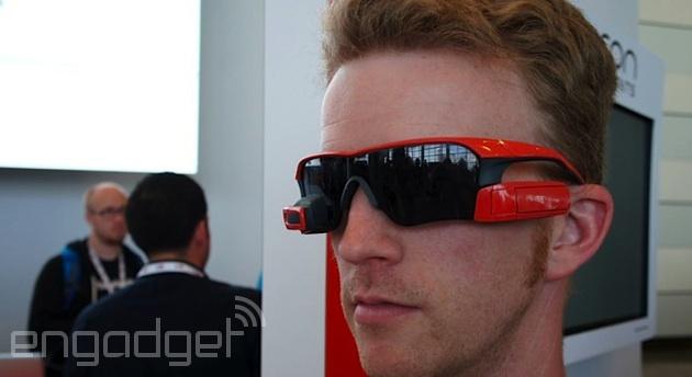 Brad is stylin' in smart sunglasses