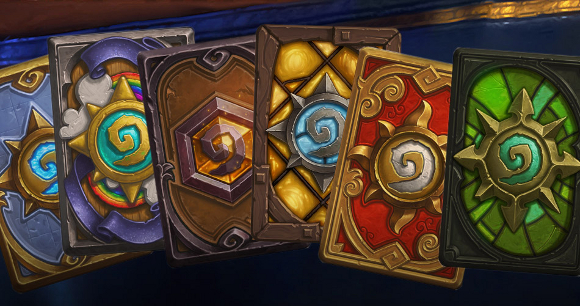 New Hearthstone card backs