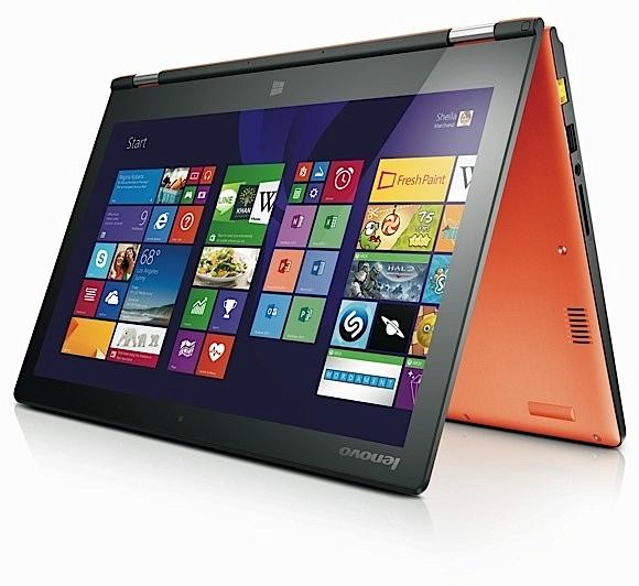 Lenovo rebautiza los Yoga 11 y 13 como Yoga 2, dando una puesta a punto a su rendimiento