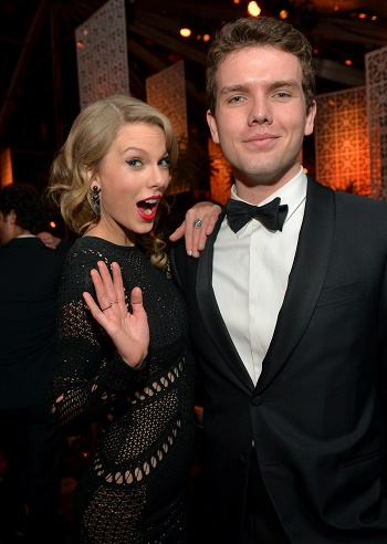 Taylor Swift and Austin Swift
