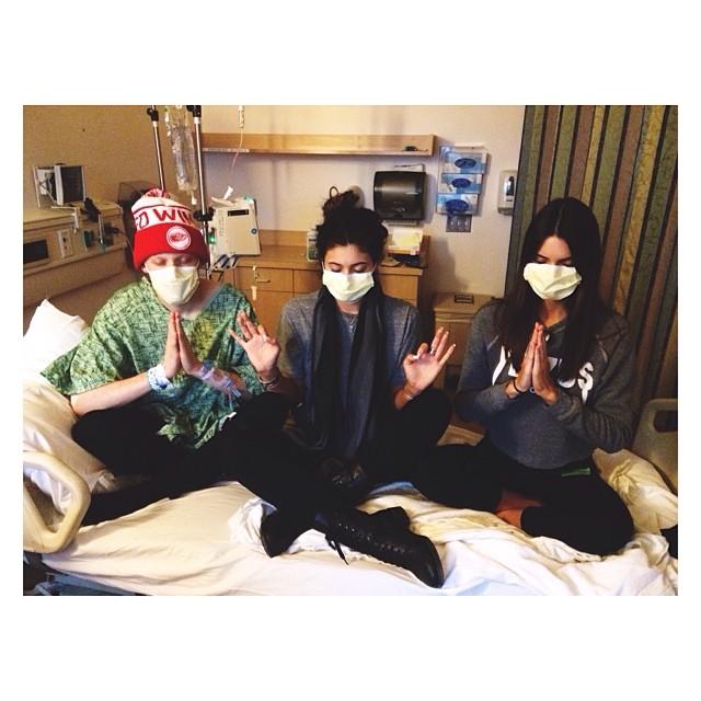 Harry Hudson, Kylie Jenner, Kendall Jenner