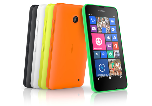 Leak reveals the Nokia Lumia 630's colorful backside