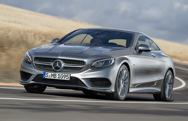 2015 Mercedes-Benz S-Class Coupe - front three-quarter dynamic view
