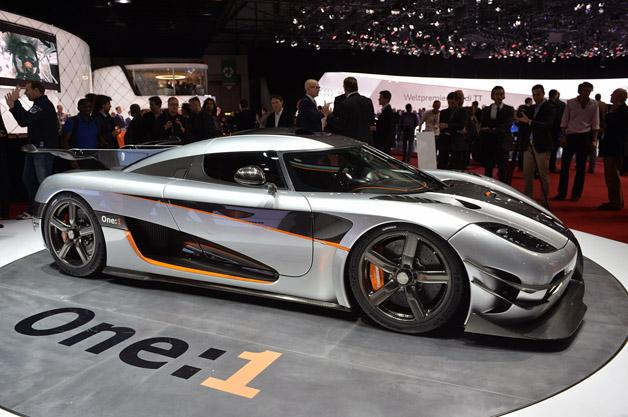 【ジュネーブ2014】最高速度は440km/h? 超弩級スーパーカー、ケーニグセグ「アゲーラOne:1」
