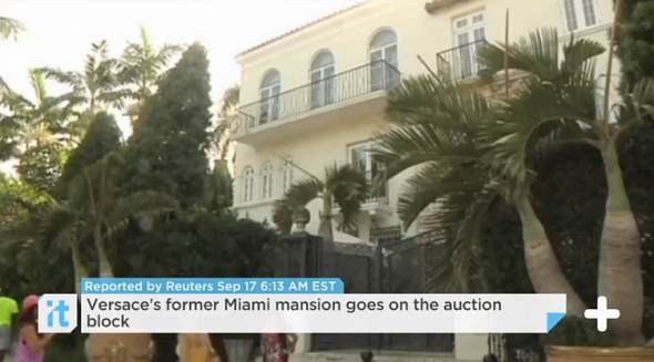 versace mansion auctioned