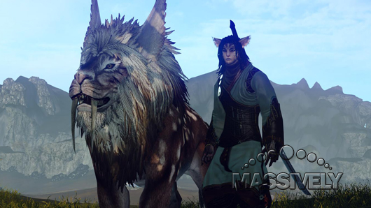 ArcheAge Ferre and steppe lion mount