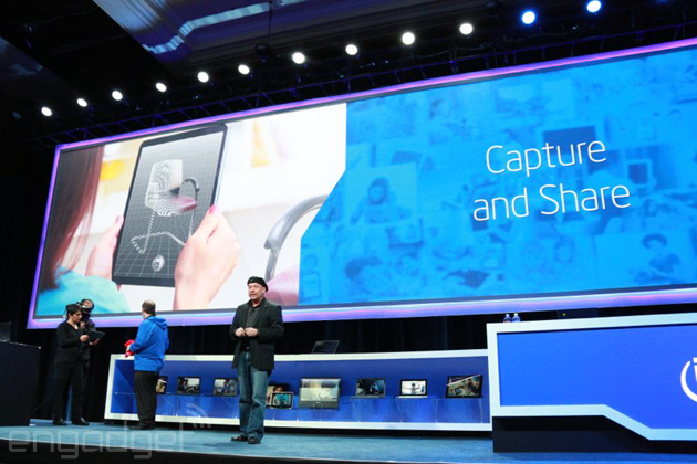 Intel RealSense using Capture and Share