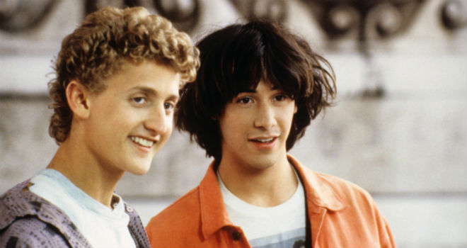 bill and ted's excellent adventure facts