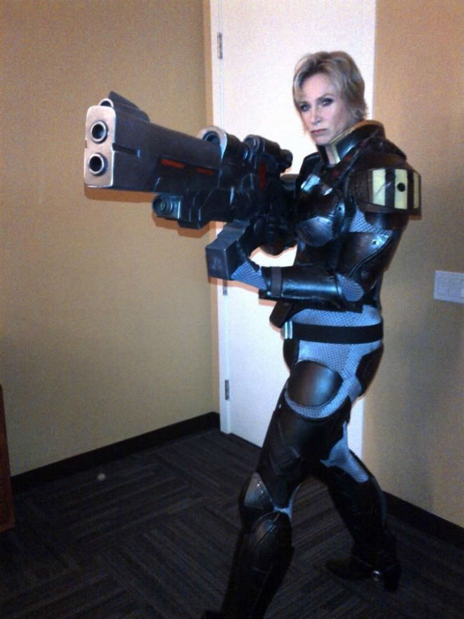 jane lynch sgt calhoun wreck it ralph cosplay
