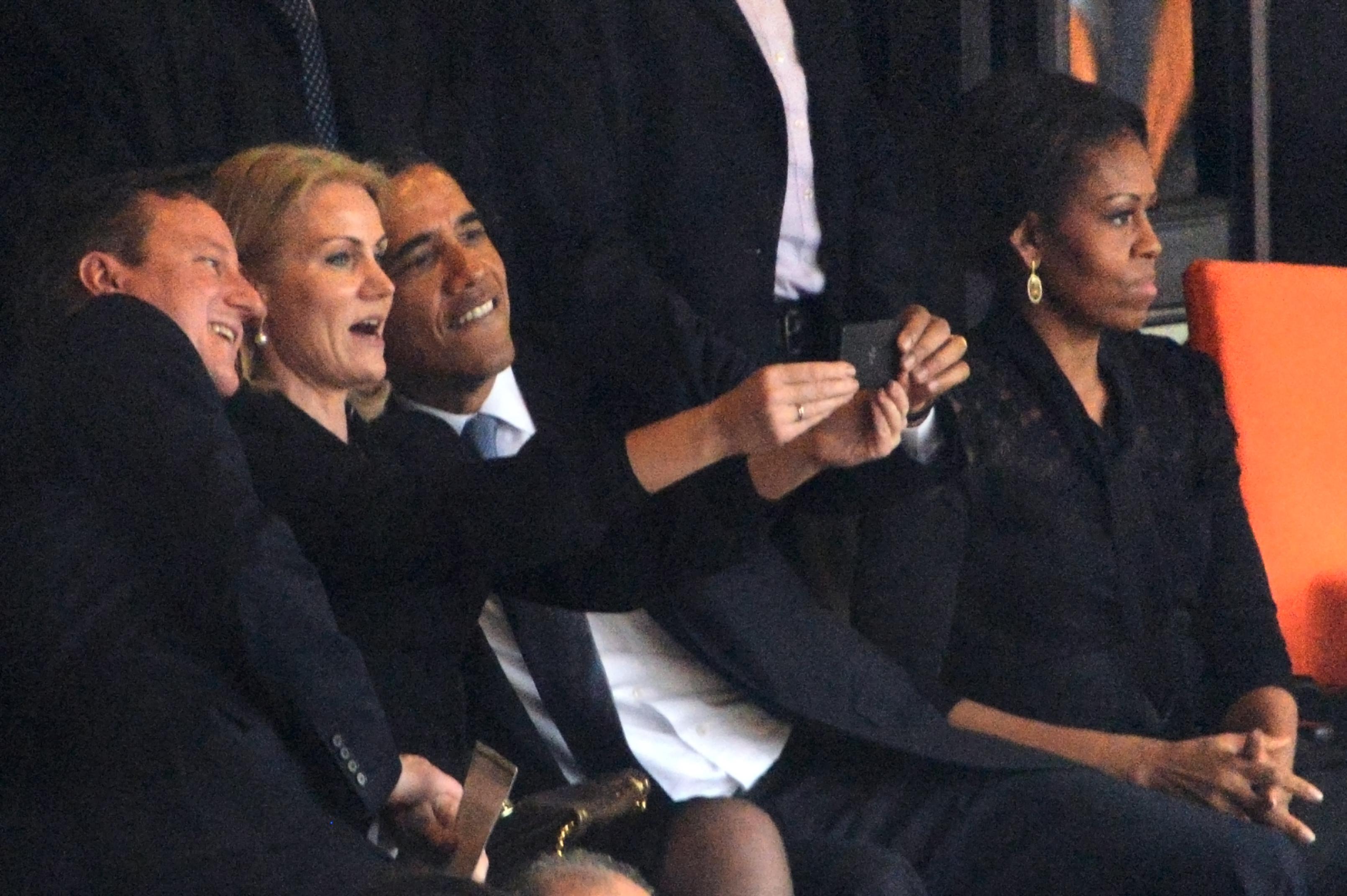 President Obama Selfie