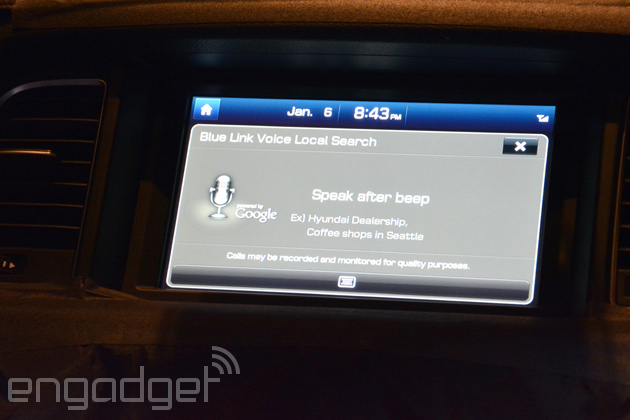 Hyundai's second generation Blue Link tech runs custom Android, keeps you connected with Verizon