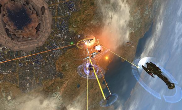 STO Dyson Sphere Battle
