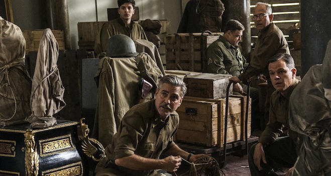 monuments men release date