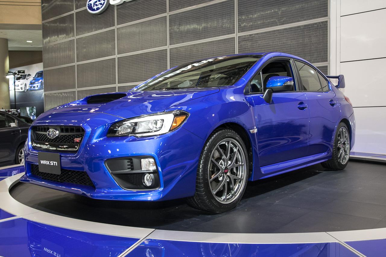 2015 Subaru Wrx Sti Beautiful In Blue At Toronto Auto Show