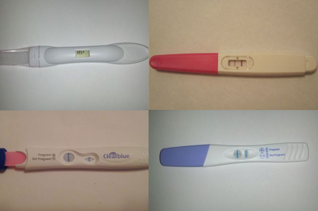 Fake pregnancy tests on ebay
