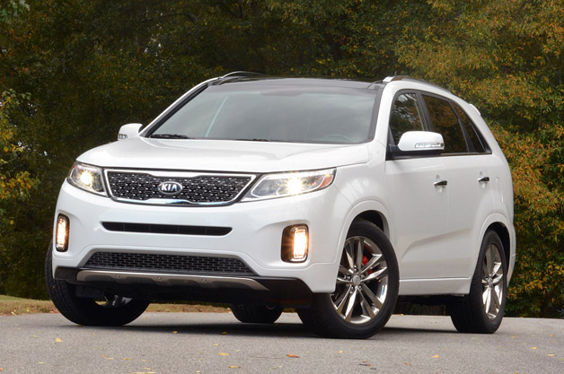 2014 kia sorento finally shows its face kcsr the. Black Bedroom Furniture Sets. Home Design Ideas