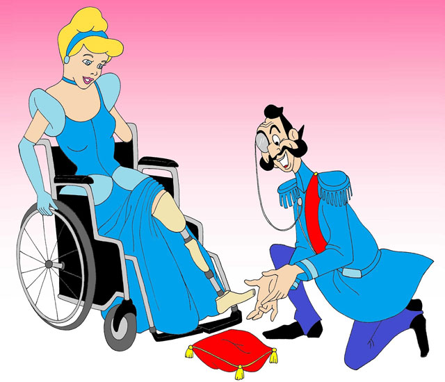 AleXsandro Palombo disabled Disney princesses