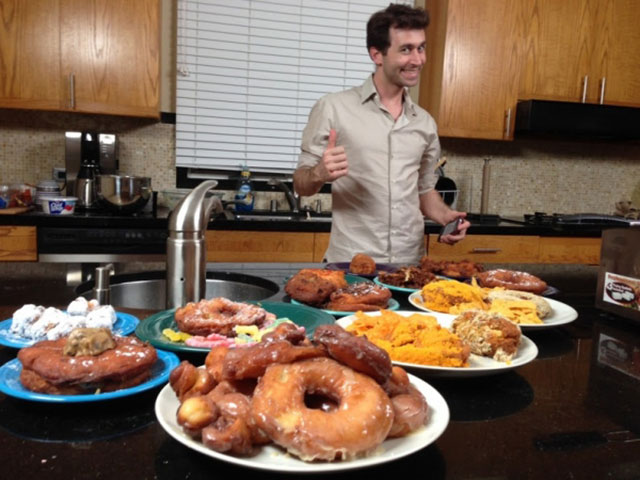 James Deen Loves Food