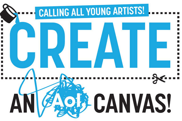 AOL canvas Free the Children competition