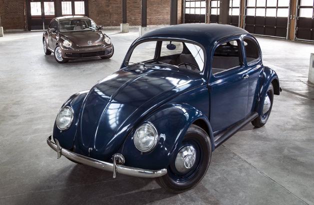 Volkswagen Beetle: 1949 and 2014