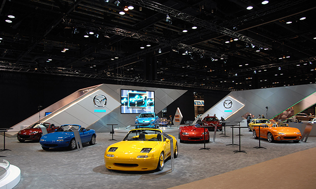 20 Years of Mazda Miatas at the 2009 Chicago Auto Show