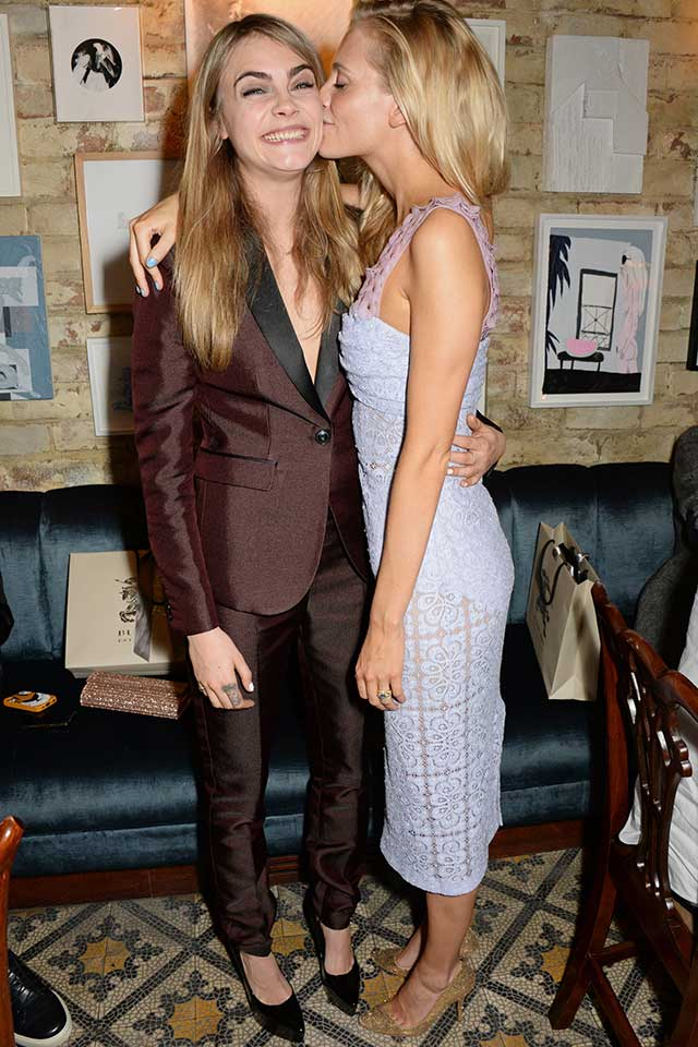 Cara Delevingne And Sister Poppy Party With