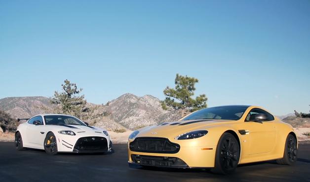 【ビデオ】アストンマーティン「V12ヴァンテージ S」とジャガー「XKR-S GT」を徹底比較!