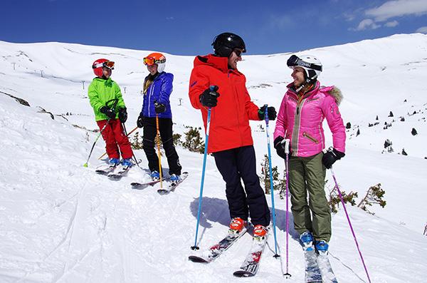 family ski Loveland resort Colorado
