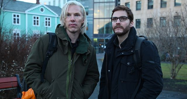 daniel bruhl, benedict cumberbatch, the fifth estate, fifth estate