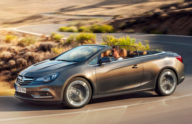 2013 Buick Cascada - front three-quarter view