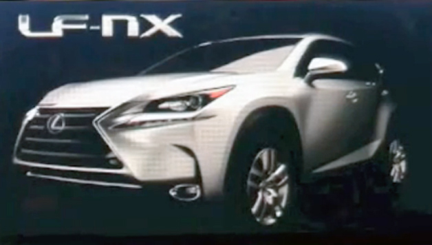 Production Lexus Nx