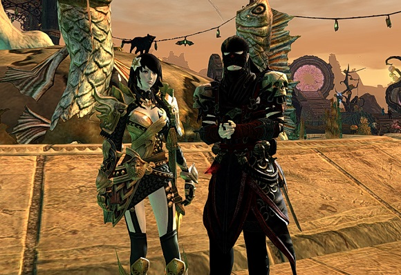 Female Phalanx set and male Trickster set