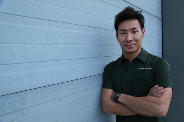 小林可夢偉、ケータハム F1チームから参戦決定!