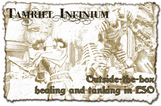 Tamriel Infinium: Outside the box healing and tanking in ESO