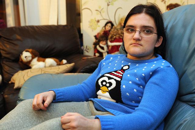 Teenager's wheelchair stolen